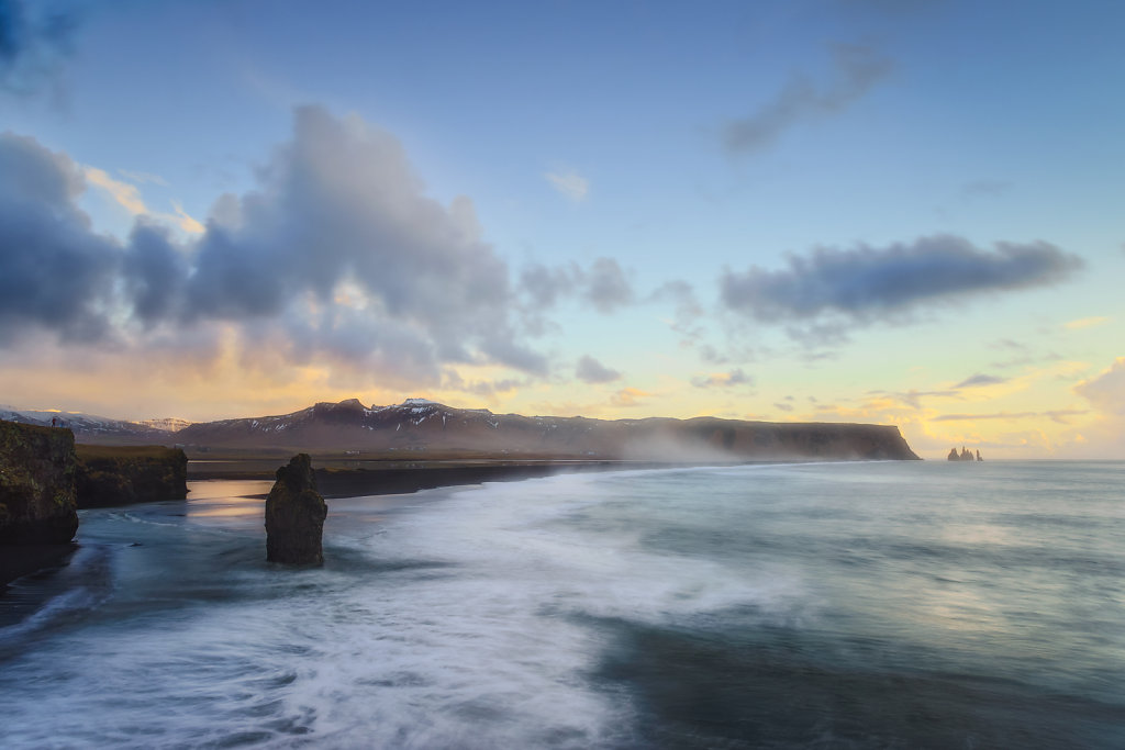 Iceland - Black sand beach