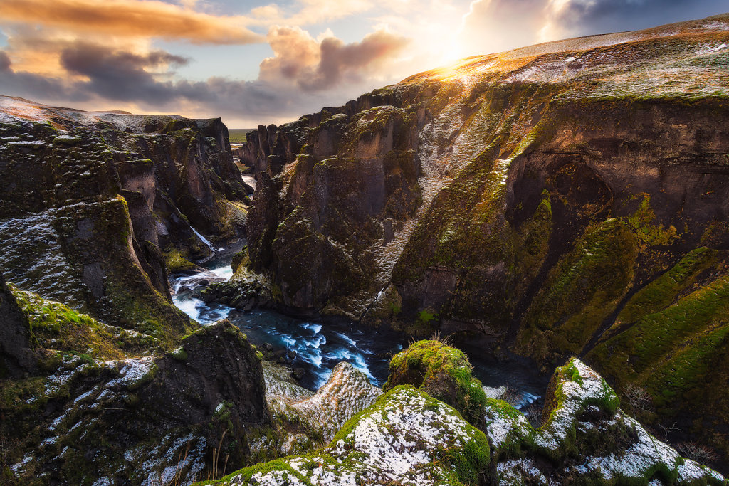 Iceland - Fjaðrárgljúfur