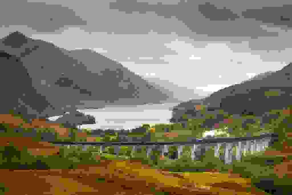Scotland - Harry Potter bridge