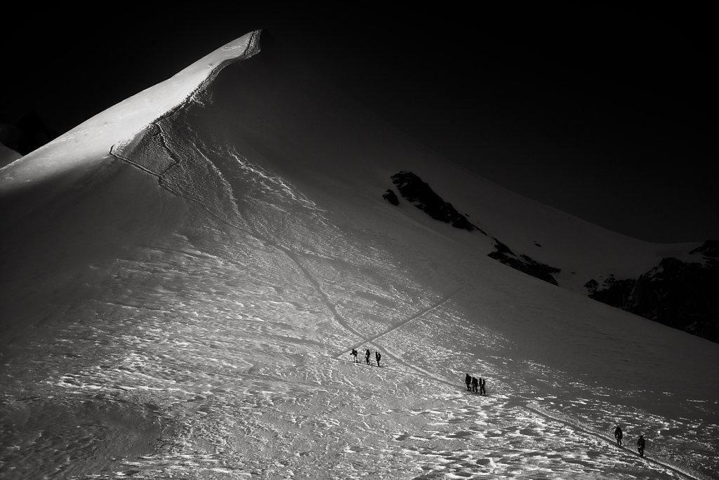 Mont Blanc - Arete des Bosses
